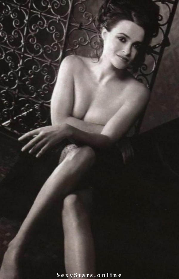Helena Bonham Carter nahá. Fotka - 13