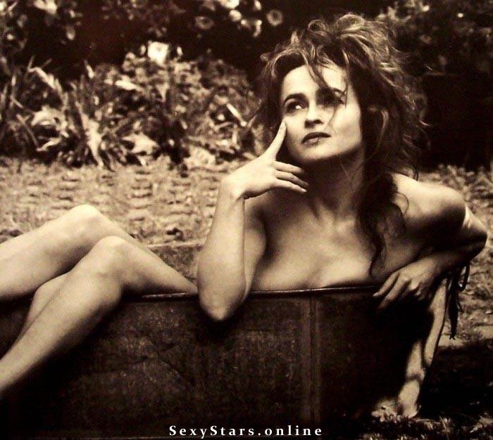 Helena Bonham Carter nahá. Fotka - 5