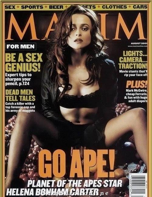 Helena Bonham Carter nahá. Fotka - 6
