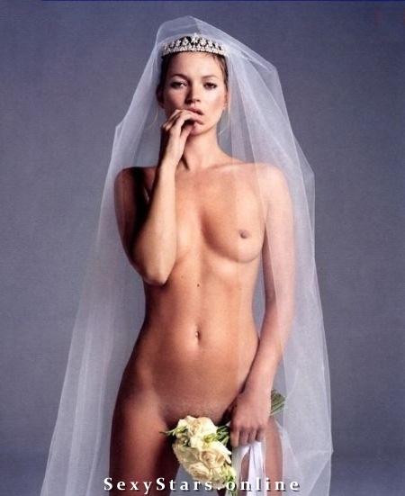 Kate Moss nahá. Fotka - 12