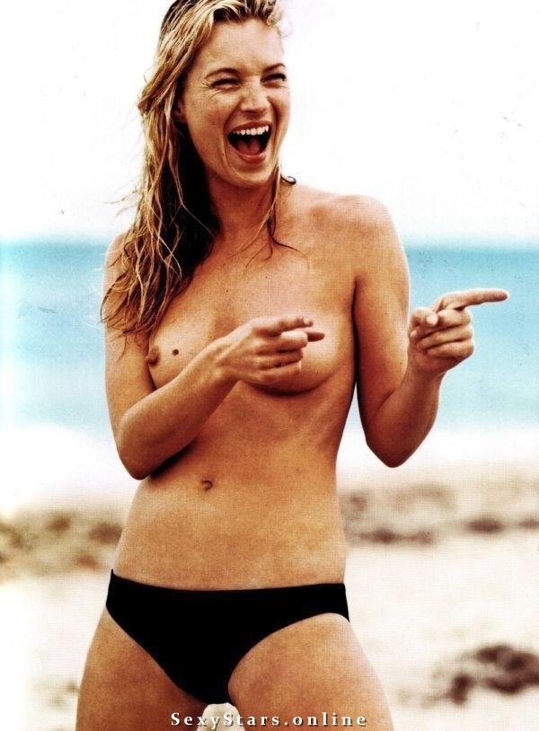 Kate Moss nahá. Fotka - 26
