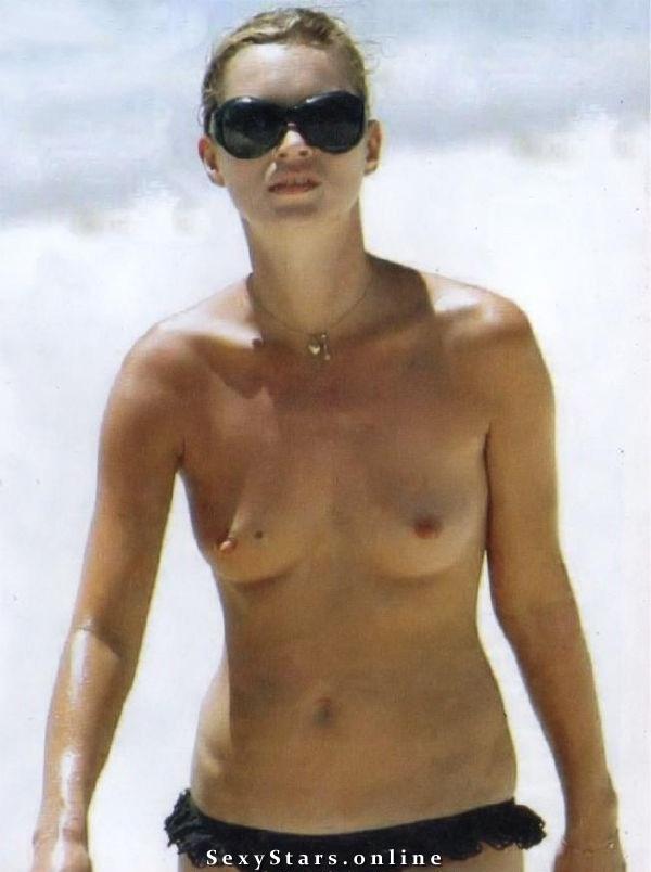 Kate Moss nahá. Fotka - 27