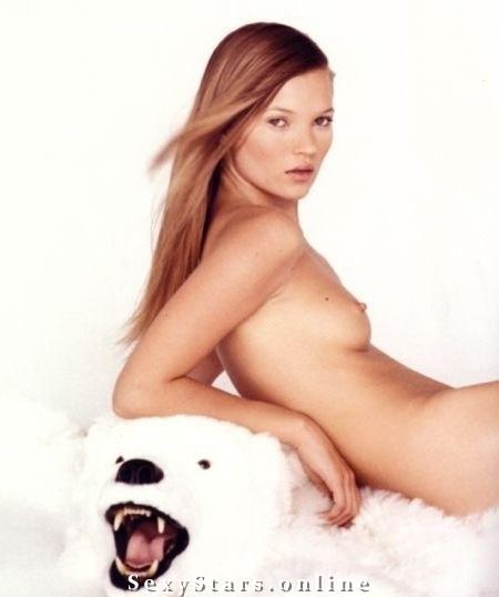Kate Moss nahá. Fotka - 3