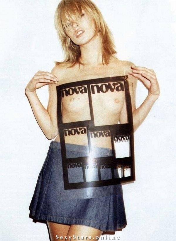 Kate Moss nahá. Fotka - 31