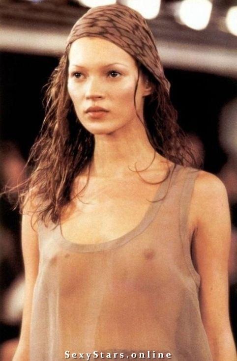 Kate Moss nahá. Fotka - 35