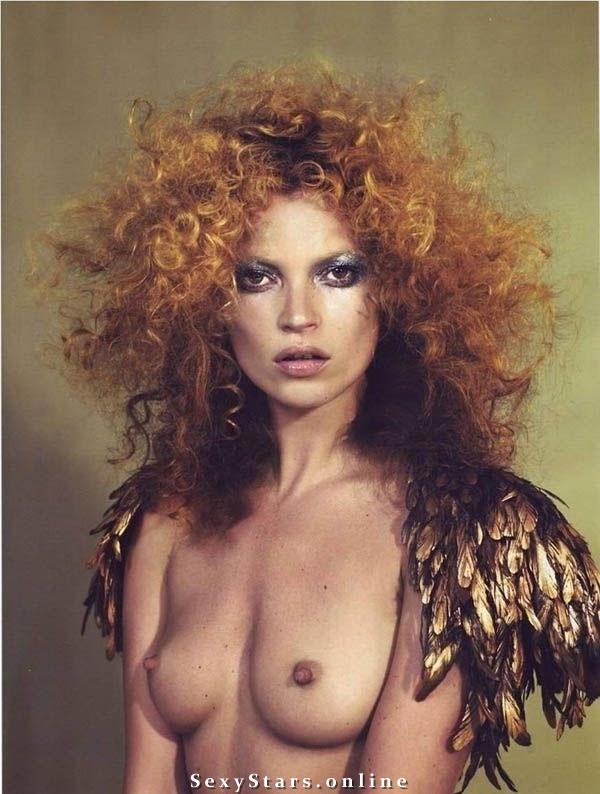Kate Moss nahá. Fotka - 36
