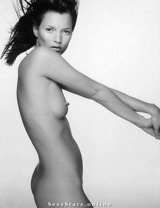 Kate Moss nahá. Fotka - 37