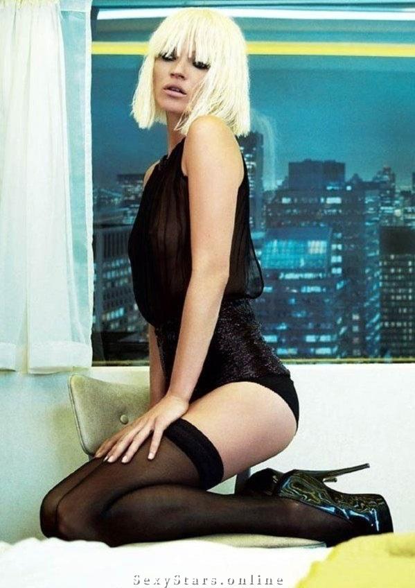 Kate Moss nahá. Fotka - 45