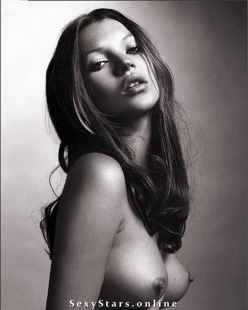 Kate Moss nahá. Fotka - 46