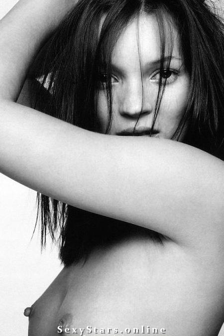 Kate Moss nahá. Fotka - 5