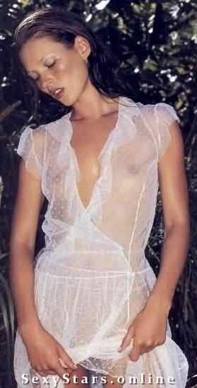 Kate Moss nahá. Fotka - 6