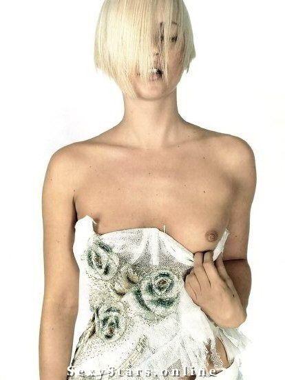 Kate Moss nahá. Fotka - 7