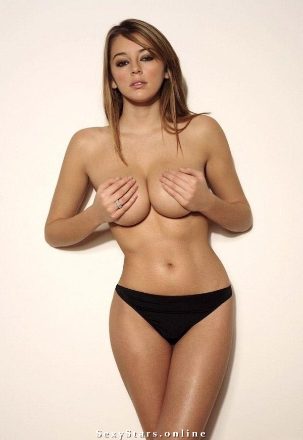 Keeley Hazell голая. Фото - 16