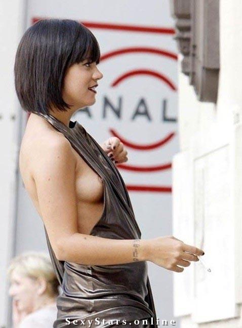 Lily Allen nahá. Fotka - 15