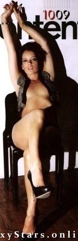 Lily Allen nahá. Fotka - 2