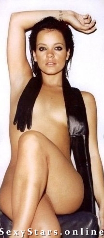 Lily Allen nahá. Fotka - 4