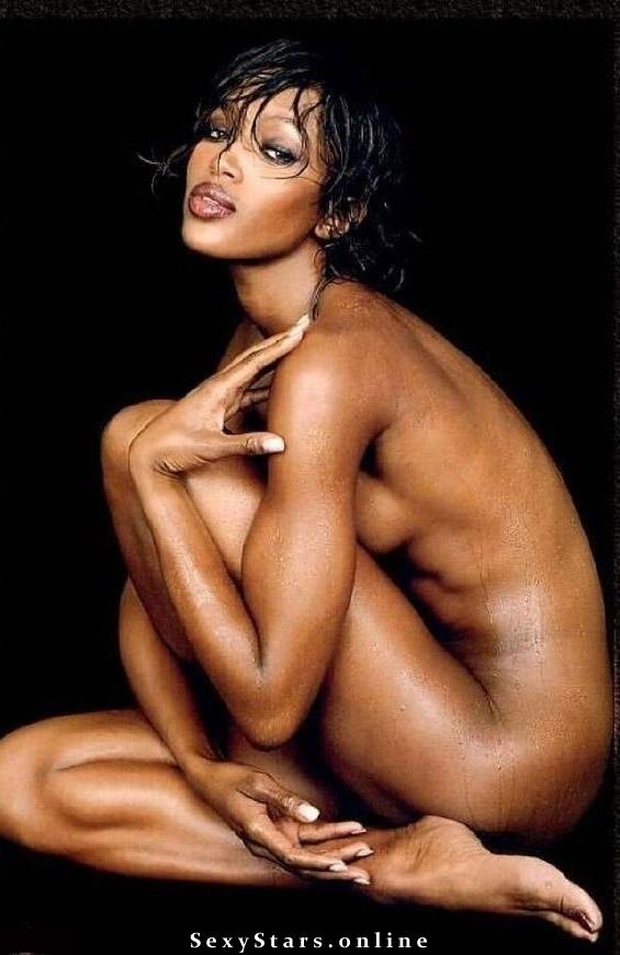 Naomi Campbell nahá. Fotka - 10
