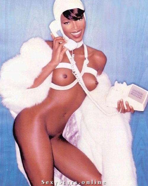 Naomi Campbell nahá. Fotka - 15