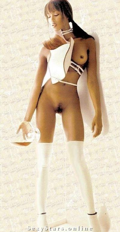 Naomi Campbell nahá. Fotka - 16