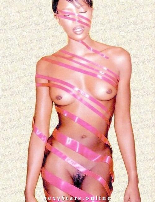 Naomi Campbell nahá. Fotka - 18