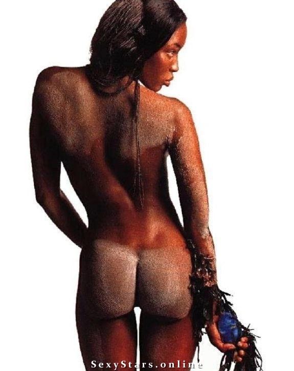 Naomi Campbell nahá. Fotka - 26