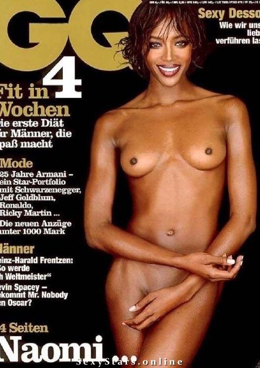 Naomi Campbell nahá. Fotka - 5