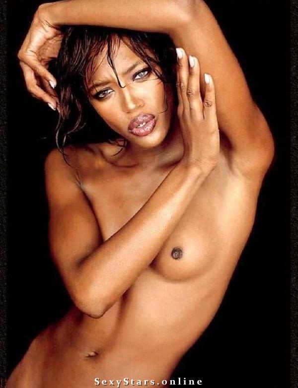Naomi Campbell nahá. Fotka - 7