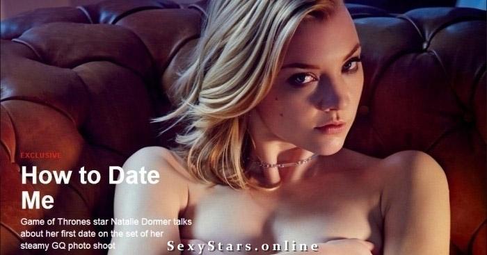 Natalie Dormer nahá. Fotka - 25