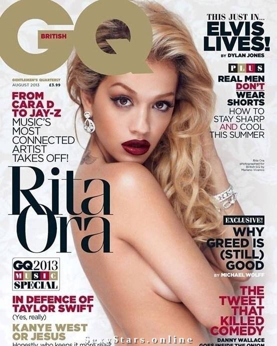 Rita Ora nahá. Fotka - 13