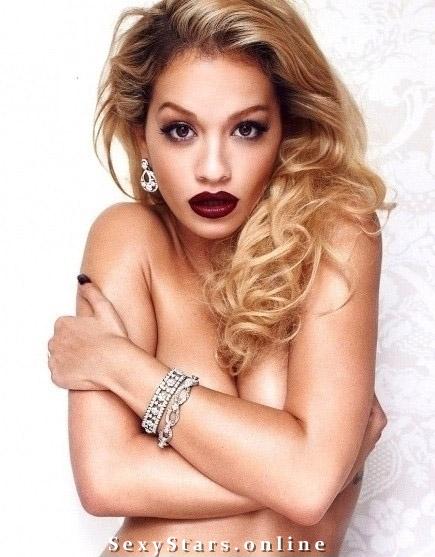 Rita Ora nahá. Fotka - 14