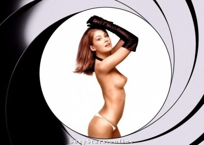Rosamund Pike nahá. Fotka - 1