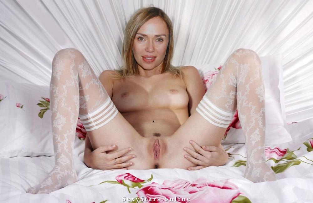 Vanessa Angel nahá. Fotka - 4