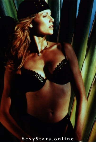 Vanessa Angel nahá. Fotka - 9