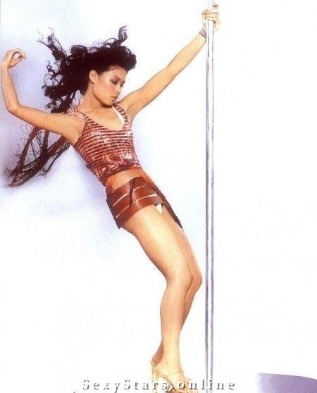 Vanessa Mae nahá. Fotka - 1