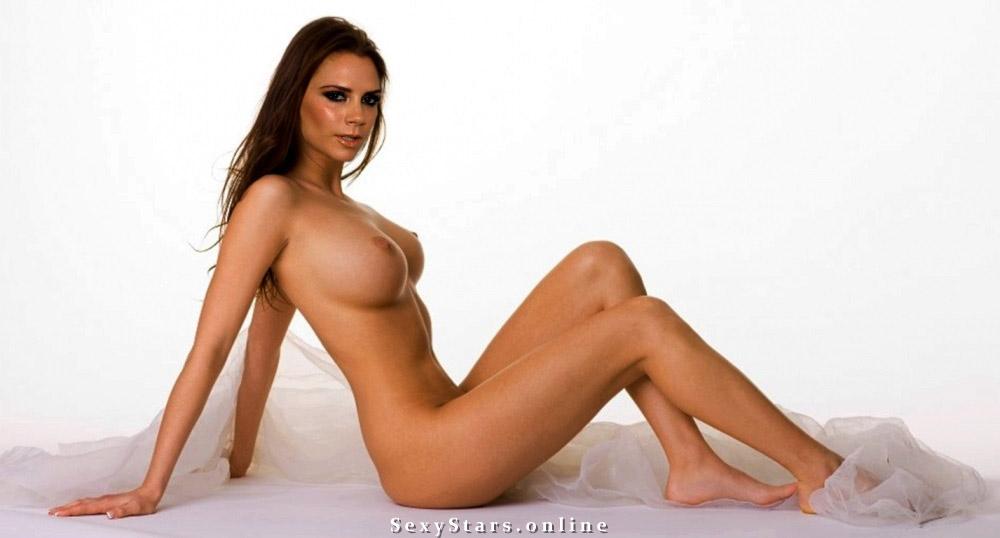 Victoria Beckham nahá. Fotka - 113