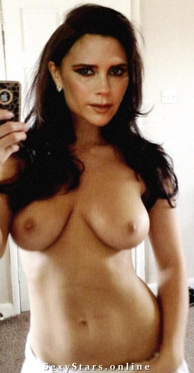 Victoria Beckham nahá. Fotka - 124