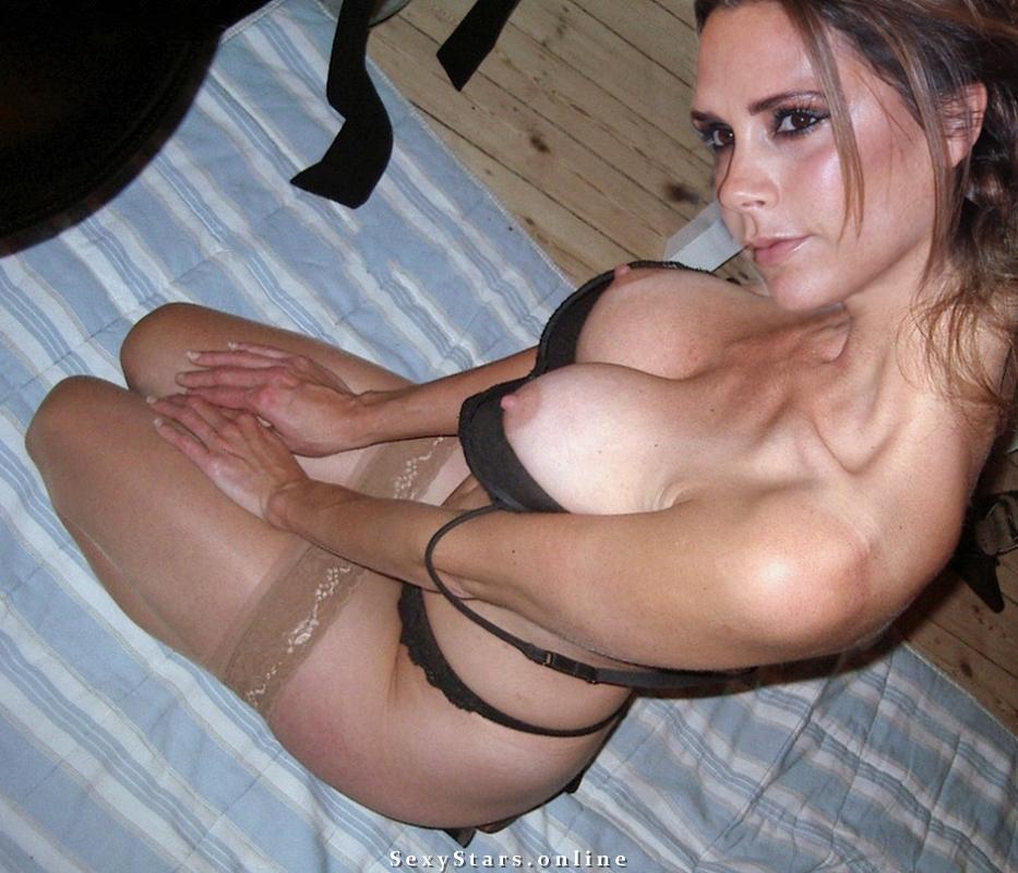 Victoria Beckham nahá. Fotka - 134