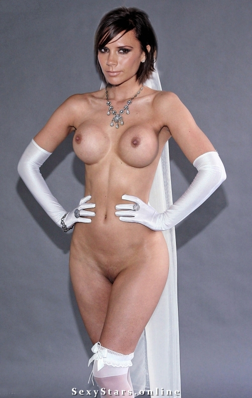Victoria Beckham nahá. Fotka - 139