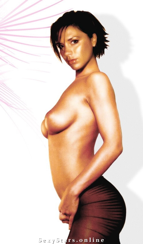 Victoria Beckham nahá. Fotka - 2
