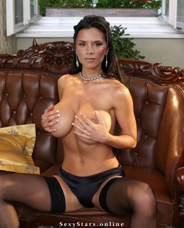 Victoria Beckham nahá. Fotka - 29