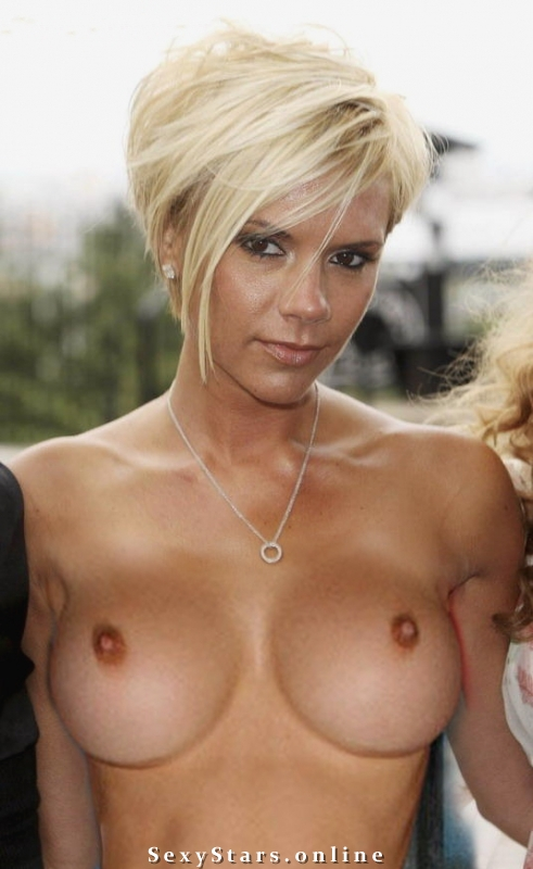 Victoria Beckham nahá. Fotka - 42