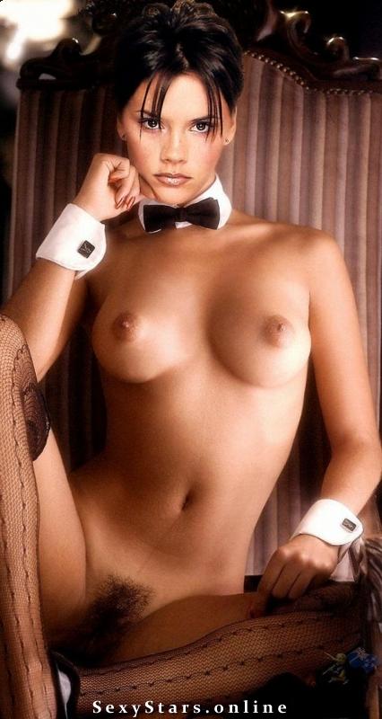 Victoria Beckham nahá. Fotka - 7