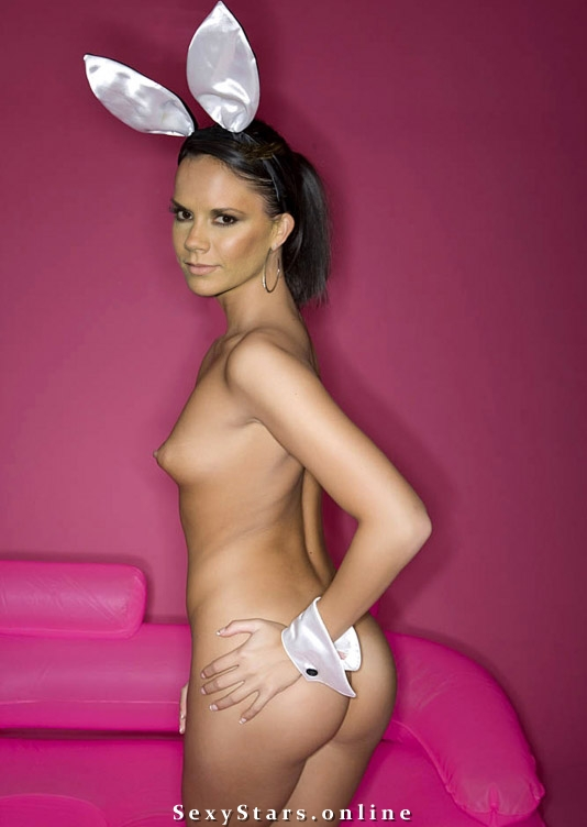 Victoria Beckham nahá. Fotka - 90