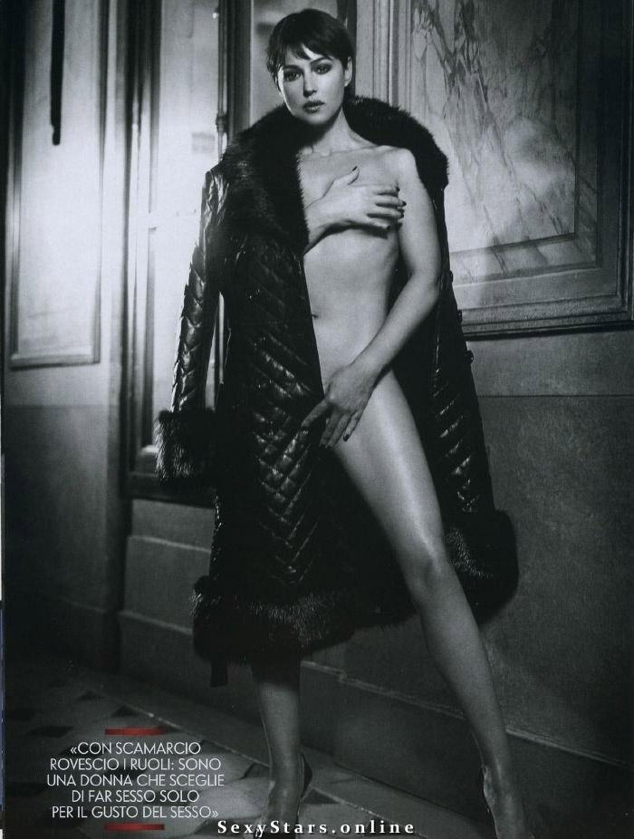 Моника Беллуччи голая. Фото - 45