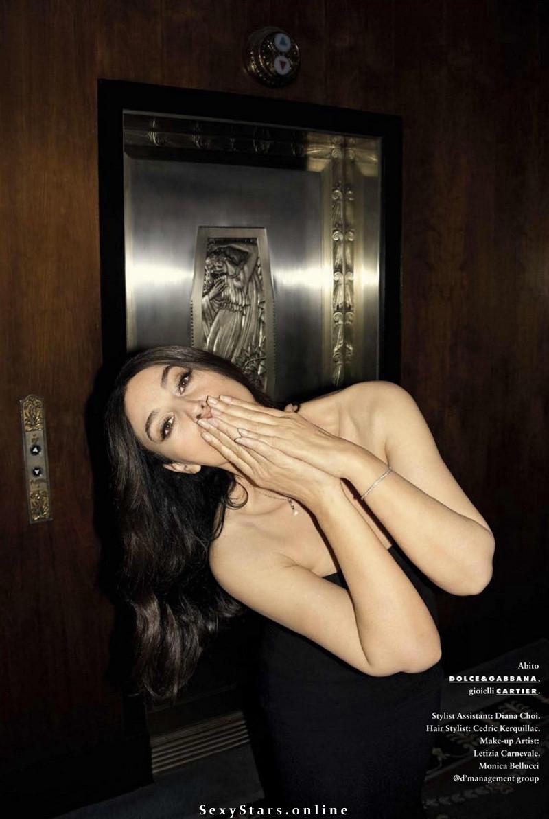 Моника Беллуччи голая. Фото - 92