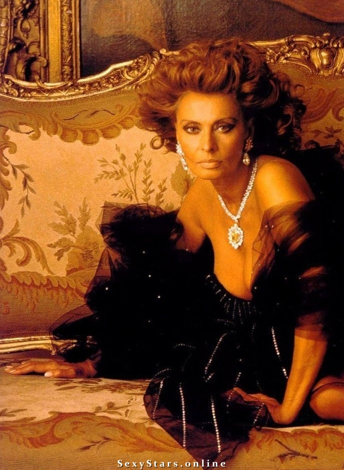 Sophia Loren Nackt. Fotografie - 10