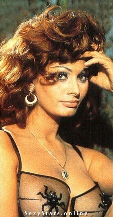 Sophia Loren Nackt. Fotografie - 11