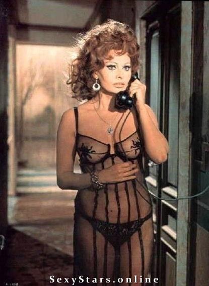 Sophia Loren Nackt. Fotografie - 12