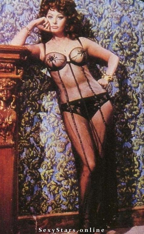 Sophia Loren Nackt. Fotografie - 13