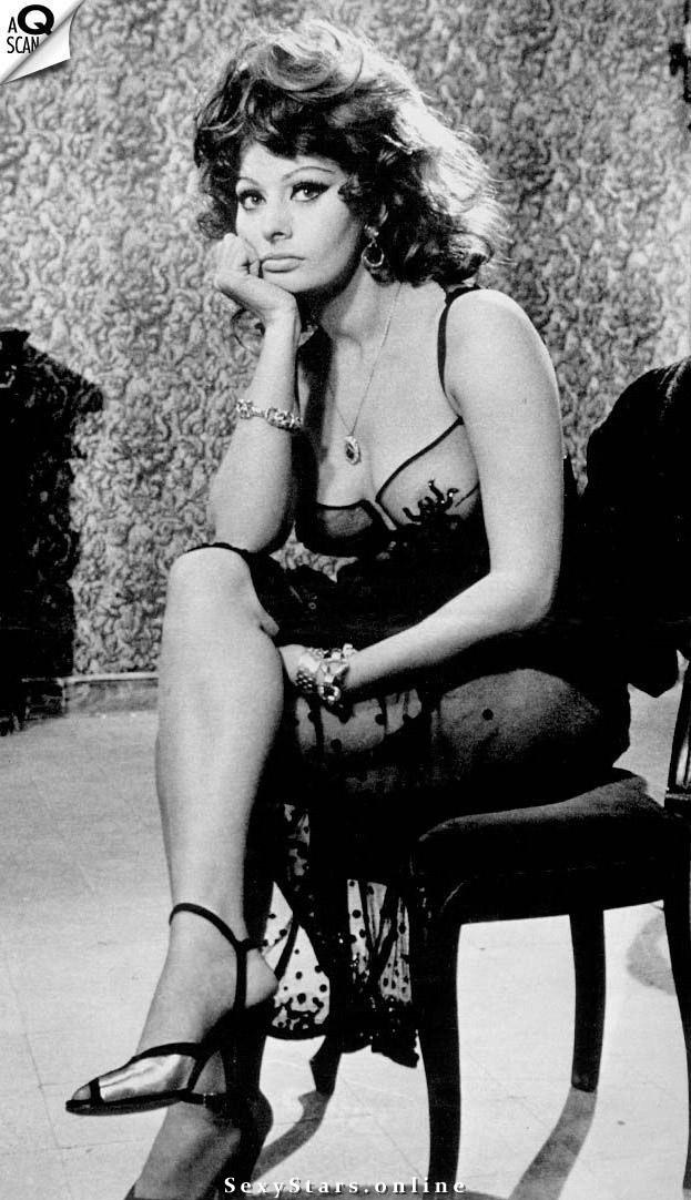 Sophia Loren Nackt. Fotografie - 14